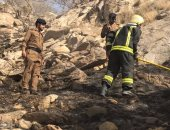 الدفاع المدنى: سقوط مقذوفات عسكرية حوثية على منزل بمحافظة العارضة السعودية