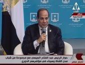 """الرئيس عبر """"تويتر"""" : شركات مصرية تنفذ أنفاق قناة السويس والانتهاء 30 يونيو"""