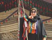 الفتاة السيناوية الباكية أمام الرئيس: دموعى سبقت كلماتى حزنا على سيناء