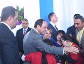 الرئيس السيسي للشباب: شغلت الجيش تحت رجليكم كى لا تسقط مصر