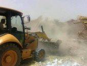 إزالة 12 حالة تعدى على الأرض الزراعية وتحرير 17 محضر تموينى بالمنيا