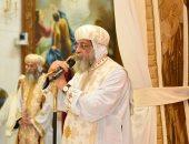 """البابا تواضروس لـ""""اليوم السابع"""": كاتدرائية العاصمة الإدارية إنجاز تاريخى"""