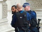 بالفيديو.. لحظة اعتقال المشتبه به فى حادث مقر الحكومة البريطانية
