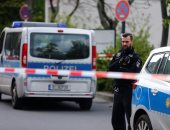 بالصور... إجراءات أمنية مشددة فى محيط حادث إطلاق نار على مستشفى بألمانيا