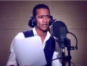 """محمد رمضان ينشر فيديو داخل استوديو مسلسله الإذاعى """"لا سحر ولا شعوذة"""""""