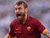 فيديو.. روما يضيف الهدف الثانى فى شباك برشلونة 2-0 بأقدام دى روسى