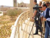 الرئيس السيسى يصل قنا لافتتاح عدد من المشاريع الخدمية
