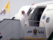بث مباشر .. الزيارة التاريخية لبابا الفاتيكان إلى مصر
