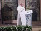 بالفيديو.. بابا الفاتيكان بالعربية: مصر أم الدنيا.. ولن ننسى حفاوة استقبال الأسرة المقدسة