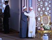 بالفيديو.. بابا الفاتيكان: مستقبلنا جميعا يعتمد على الحوار بين الأديان وعلينا السير معا