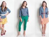 12 طريقة لارتداء الشيميز الجينز فى الصيف