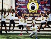 بالصور..129 هاويا يشاركون فى ألعاب اللياقة البدنية بمسابقة jungle games
