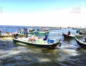 بالفيديو والصور.. 4000 صياد يستأنفون رحلة البحث عن الرزق فى بحيرة البردويل بسيناء