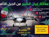بالإنفوجراف.. 9 معلومات عن المقاتلة الشبح الإيرانية من الجيل الخامس