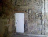 """""""الآثار"""" توضح حقيقة الباب الحديدى بمعبد دندرة"""