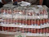 ضبط 4 آلاف علبة عصير مجهولة المصدر ونصف طن أسمدة محظور بيعها فى بنى سويف