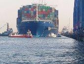 تداول 24 سفينة بموانئ بورسعيد خلال 24 ساعة