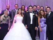 """بالصور .. ياسر الحريرى وأوكسانا يشعلان زفاف """"طارق درة"""" و""""نهى حجاج"""""""