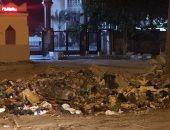 بالصور.. القمامة تحاصر أهالى شارع النبوى المهندس بالمندرة فى الإسكندرية