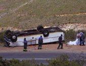 """مقتل وإصابة 34 شخصا إثر سقوط حافلة بـ""""واد"""" فى الهند"""
