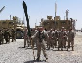 بالصور.. عودة مشاة البحرية الأمريكية إلى هلمند لتدريب القوات الأفغانية
