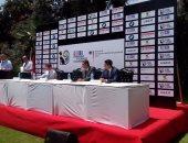 رئيس الأهلى يحضر مؤتمر  الإعلان عن بطولة السفارات