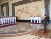"""وزير الداخلية يشهد مراسم تخريج دفعة جديدة من """"تأهيل أمناء الشرطة للترقى"""""""