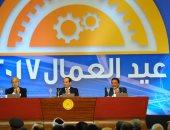 """جبالى المراغى لـ""""السيسي"""": عمال مصر قادرون على بناء بلدهم بعقولهم المستنيرة"""