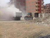"""محافظة الجيزة: رفع 600 طن مخلفات هدم وأتربة بـ""""أبو النمرس"""""""