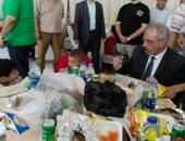 بالصور.. مديرية أمن بنى سويف تنظم احتفالية لـ150 يتيما بمقر نادى الشرطة