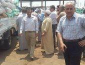 رئيس مدينة الباجور يتابع توريد القمح إلى الصوامع