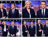مناظرة ساخنة بين لوبان وماكرون قبل الدورة الثانية من انتخابات الرئاسة الفرنسية