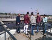 مياه القناة: تكثيف أعمال صيانة وإصلاح محطات مياه الشرب إستعدادا للصيف وشهر رمضان