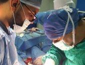 قافلة جراحية بمستشفى المطرية بالدقهلية
