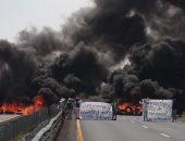 بالصور..مقتل 10 أشخاص فى اشتباكات بين الأمن المكسيكى وعصابات سارقى النفط