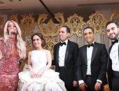 """بالصور.. رقصات مايا دياب وغناء حماقى وشقاوة بوسى تشعل زفاف """"محمد & هبة"""""""