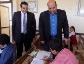 سكرتير عام جنوب سيناء يتفقد امتحانات الابتدائية والإعدادية