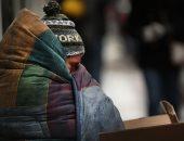 """كورونا يفاقم معاناة المشردين بـ""""لاس فيجاس"""".. صور"""
