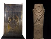 """باب الكعبة بجوار إنسان عمره 6 آلاف عام فى متحف """"الطريق العربى"""" بسيول"""