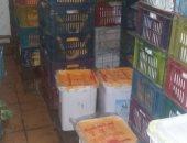 ضبط مصنع أيس كريم بدون ترخيص ومخالفات بمخابز العاشر من رمضان