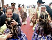 جلسة مباحثات ثنائية بين السيسي وأمير الكويت لتعزيز العلاقات بين البلدين