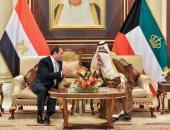أمير الكويت ردا على رسالة الرئيس السيسى: العلاقات بيننا وطيدة وتاريخية