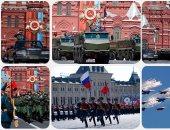 القوات الروسية تشارك ببروفات العرض العسكرى لاحتفالات عيد النصر