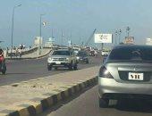 قارئ يرصد سيارة بدون لوحات معدنية بسيدى جابر فى الإسكندرية