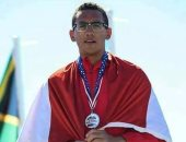 أحمد الجندى بطل الخماسى يتوج بجائزة أفضل رياضى عربى