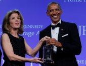 """أوباما يطالب الجمهوريين بالتحلى بالشجاعة فى معالجة """"الرعاية الصحية"""""""