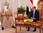 بالصور.. مدير الصندوق الكويتى يؤكد للسيسى توفير التمويل للمشروعات التنموية