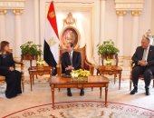 بالصور.. الرئيس السيسي يؤكد حرص مصر على التواصل المستمر مع المستثمرين الكويتيين
