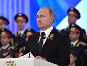 بوتين: عمليتنا العسكرية فى سوريا عادت بنفع على مجمع الصناعى العسكرى الروسى
