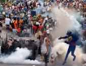 """بالفيديو.. فنزويلا تشتعل.. مقتل 44 شخصا وإصابة 1000 فى 47 يوم احتجاج.. وزير الدفاع يحذر من المصير السورى.. ويؤكد: المعارضة تريد """"حلب جديدة"""".. التضخم يكسر حاجز 1700% ومطالب عزل الرئيس تتوالى"""